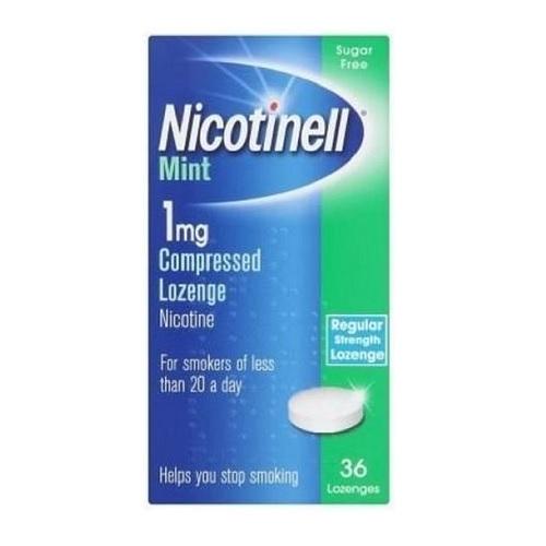 NICOTINELL LOZENGE 1MG NICOTINE (36)