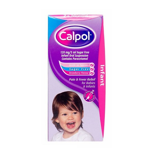 CALPOL INFANT 120MG/5ML ORAL SUSPENSION PARACETAMOL SUGAR-FREE