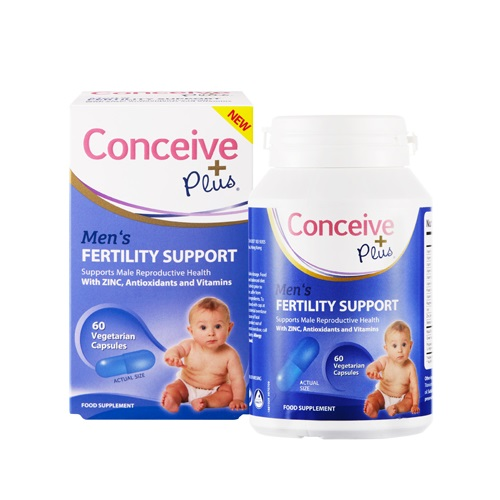 CONCEIVE PLUS FERTILITY SUPPORT CAPSULES MEN (60)