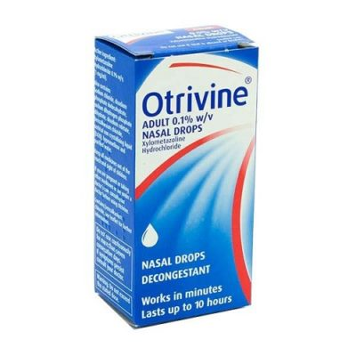 OTRIVINE ADULT NASAL DROPS (10ML)