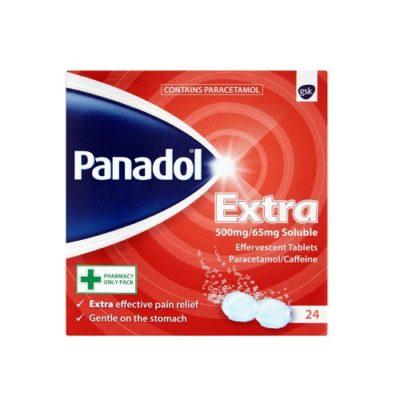 PANADOL EXTRA 500MG SOLUBLE TABLETS PARACETAMOL (24)
