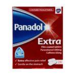 PANADOL EXTRA 500MG TABLETS PARACETAMOL (24)