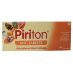 PIRITON 4MG TABLETS CHLORPHENAMINE (30)