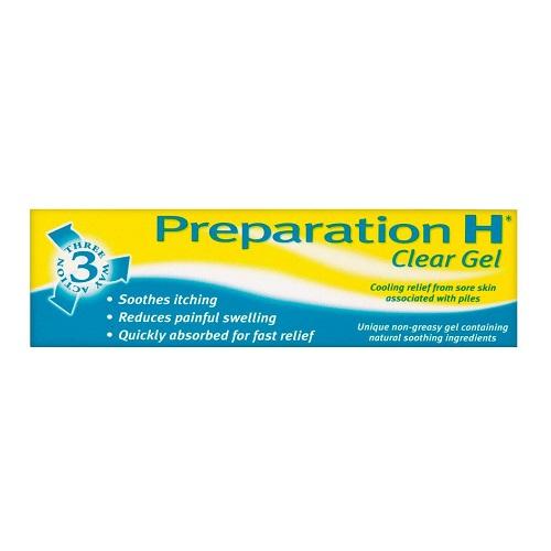 PREPARATION H CLEAR GEL (25G)