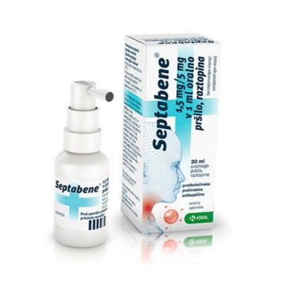 SEPTABENE OROMUCOSAL THROAT SPRAY (30ML)
