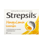 STREPSILS HONEY & LEMON LOZENGES (24)
