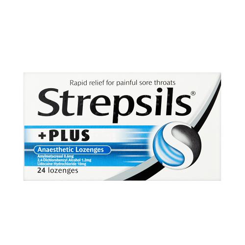 STREPSILS PLUS LOZENGES (24)