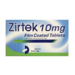 ZIRTEK 10MG TABLETS CETIRIZINE