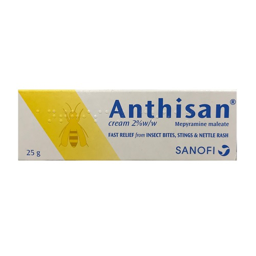 ANTHISAN 2% CREAM MEPYRAMINE (25G)