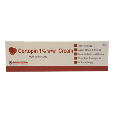 CORTOPIN 1% HYDROCORTISONE CREAM (15G)