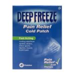 DEEP FREEZE PAIN RELIEF COLD PATCH (4)