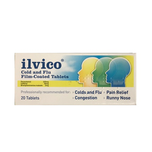 ILVICO COLD & FLU FILM COATED TABLETS (20)