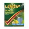 LEMSIP COLD & FLU HEADCOLD SACHETS 500MG (10)