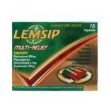 LEMSIP MULT-RELIEF CAPSULES (16)