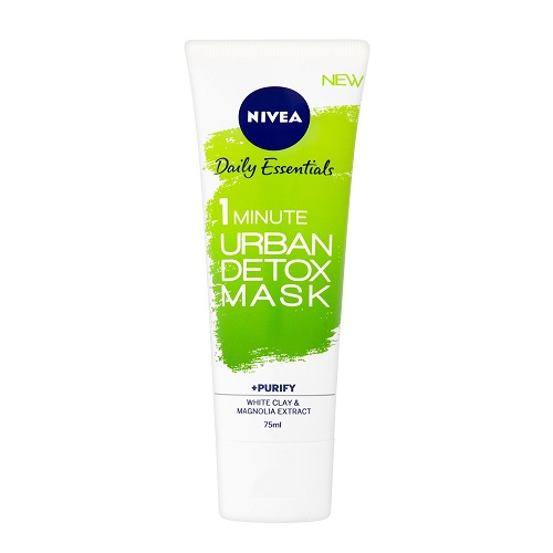 NIVEA 1 MINUTE URBAN DETOX MASK + PURIFY (75ML)