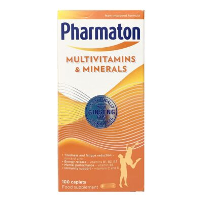PHARMATON MULTIVITAMIN CAPLETS (100)
