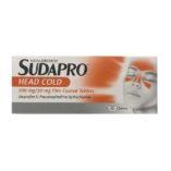 SUDAPRO HEADCOLD TABLETS 200MG/30MG (12)