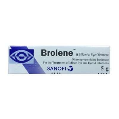 BROLENE 0.15% EYE OINTMENT (5G)