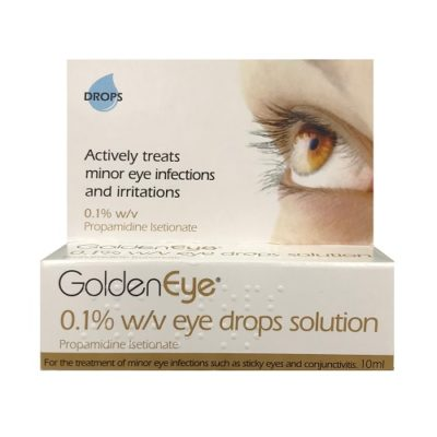 GOLDEN EYE 0.1% EYE DROPS (10ML)