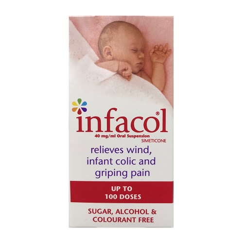 INFACOL ORAL SUSPENSION SIMETICONE (50ML)