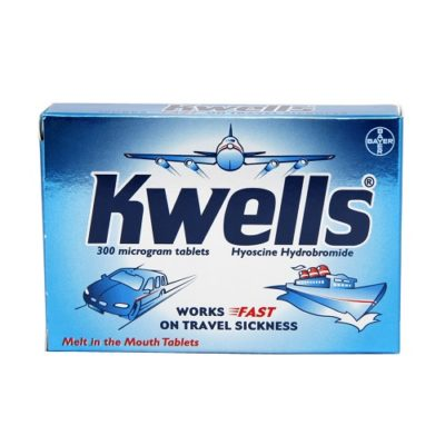KWELLS TRAVEL SICKNESS TABLETS (12)