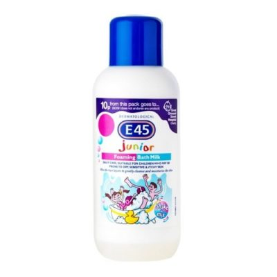 E45 JUNIOR FOAMING BATH MILK (500ML)