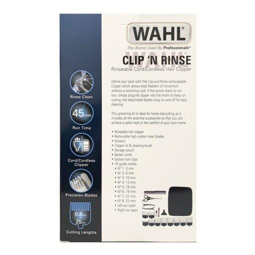 WAHL CLIP 'N RINSE CLIPPER SET