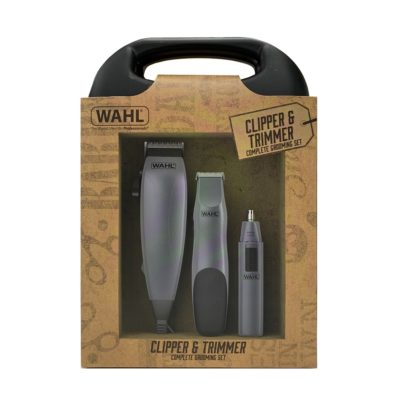 WAHL CLIPPER & TRIMMER COMPLETE GROOMING SET
