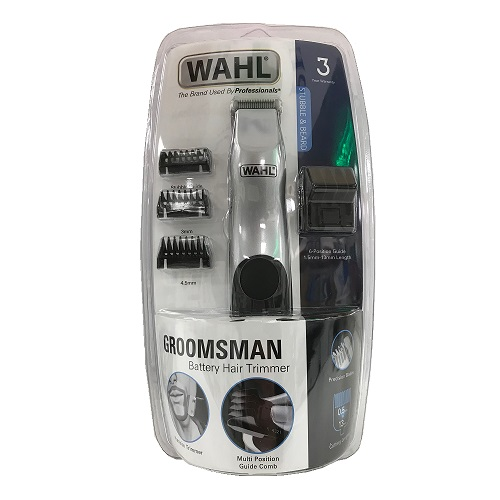 WAHL GROOMSMAN BATTERY HAIR TRIMMER (1)