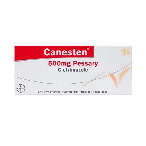 CANESTEN PESSARY 500MG CLOTRIMAZOLE (1)