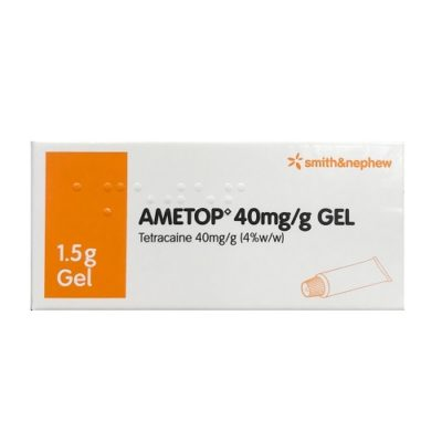 AMETOP GEL 40MG/G TETRACAINE (1.5G)