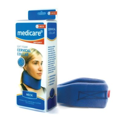 MEDICARE SOFT FOAM CERVICAL COLLAR (LARGE)