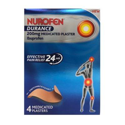 NUROFEN DURANCE PATCH 200MG IBUPROFEN