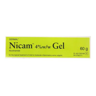 NICAM 4% GEL NICOTINAMIDE (60G)