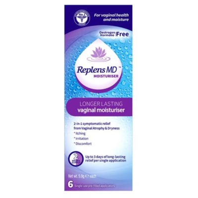 REPLENS MD VAGINAL MOISTURISER SINGLE USE (6)