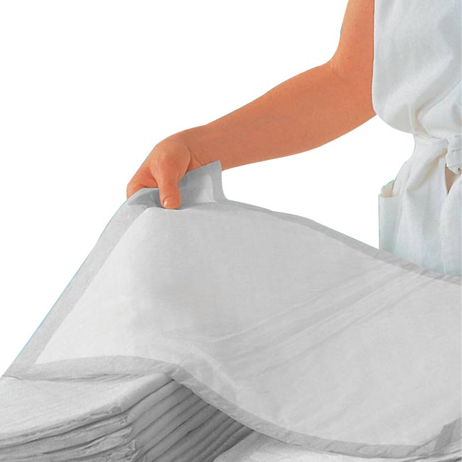 VLESI UNDERPAD INCONTINENCE SHEET 60 X 90CM WHITE