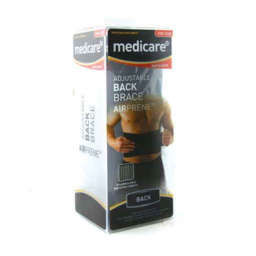 MEDICARE SPORT NEOPRENE BACK BRACE ONE SIZE (1)