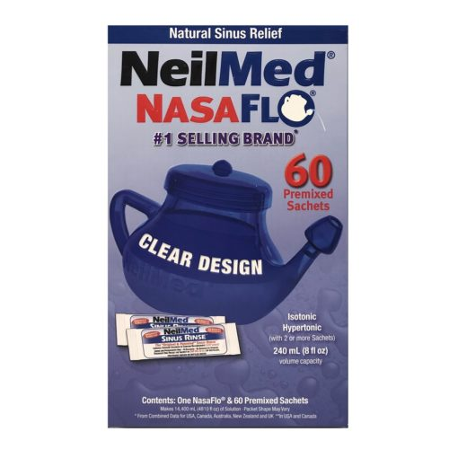 NEILMED NASAFLO NATURAL SINUS RELIEF (60)