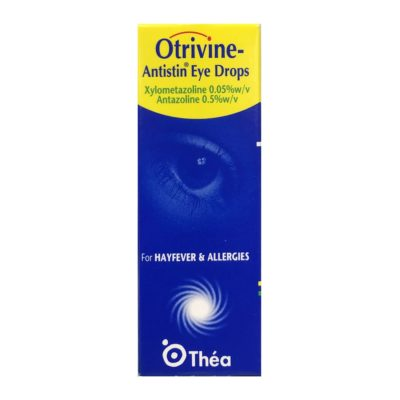 OTRIVINE ANTISTIN ALLERGY EYE DROPS (10ML)