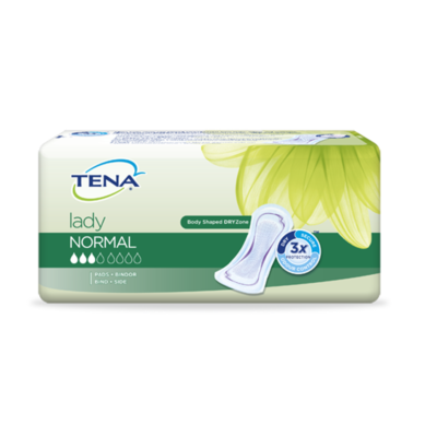TENA LADY NORMAL PADS (12)