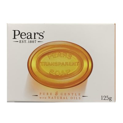 PEARS TRANSPARENT SOAP BAR (125G)