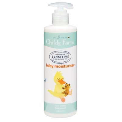 CHILDS FARM SENSITIVE BABY MOISTURISER (250ML)