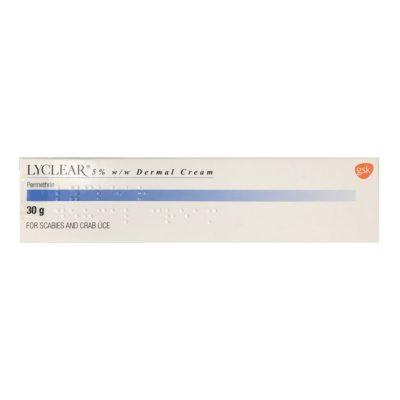 LYCLEAR 5% DERMAL CREAM PERMETHRIN (30G)