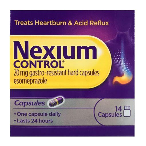 NEXIUM CONTROL 20MG CAPSULES ESOMEPRAZOLE (14)