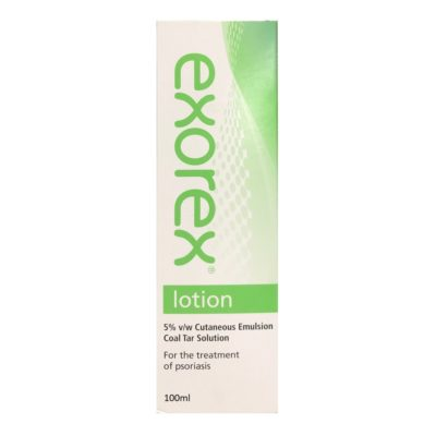 EXOREX LOTION 5% COAL TAR (100ML)