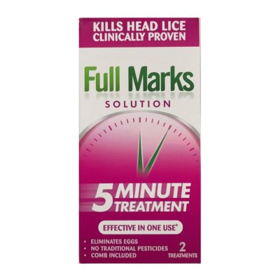 FULL MARKS SOLUTION 2 TREATMENTS (100ML)
