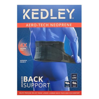 KEDLEY AERO-TECH NEOPRENE ADVANCED BACK SUPPORT