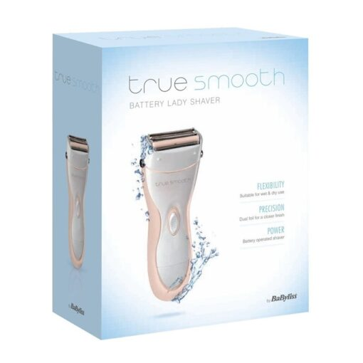 BABYLISS TRUE SMOOTH BATTERY LADY SHAVER