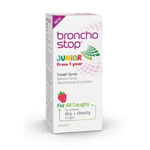 BRONCHOSTOP JUNIOR COUGH SYRUP (120ML)