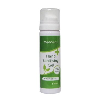 MEDISENS HAND SANITISING GEL 70% ALCOHOL (50ML)